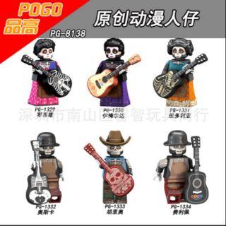Lego Minifigures Nhân Vật Cầm Đàn PG 8138