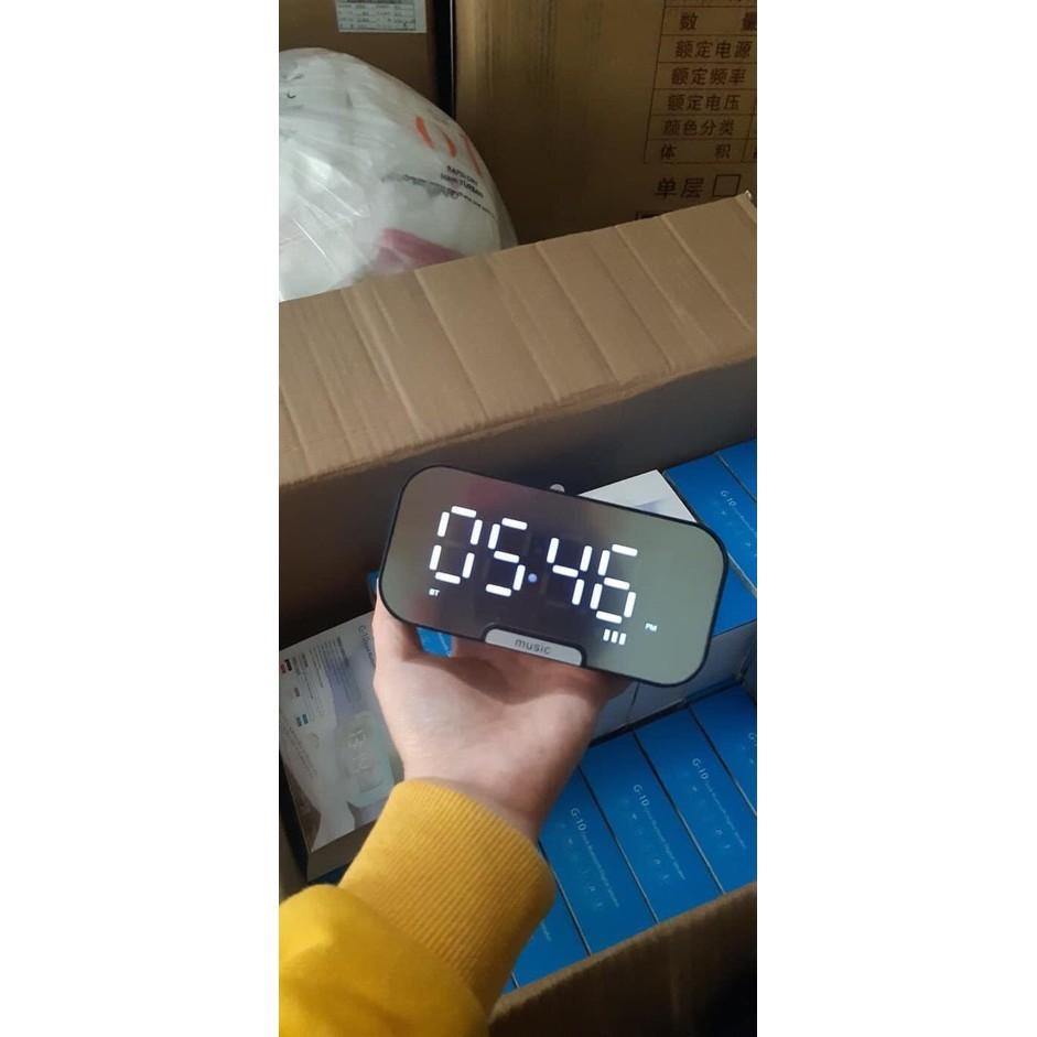 Loa Bluetooth Đồng Hồ Led ( hót 2020)