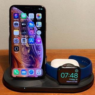 Đế sạc nhanh không dây BELKIN 3 trong 1 cho IPhone, Apple Watch, Airpod - Thương hiệu số 1 Mỹ