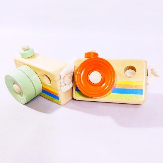 Đồ chơi máy ảnh bằng gỗ độc đáo sáng tạo