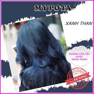 Thuốc nhuộm tóc xanh than- xanh đen phong cách hàn quốc tự nhuộm tại nhà TN09