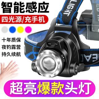 Miner chiếu dẫn ánh sáng mạnh không thấm nước gắn trên đầu thumbnail