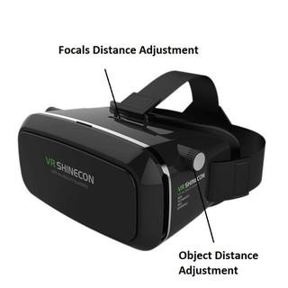 kính thực tế ảo 3D shinecon xem phim trên điện thoại