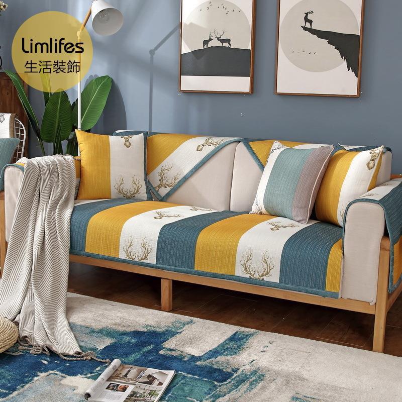 Thảm Trải Ghế Sofa Kiểu Dáng Đơn Giản Phong Cách Nordic