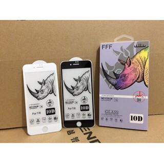 Kính cường lực iPhone 10D Tê Giác Loại 1 FREESHIP Cho 6 7 6Plus 7Plus X XR XsMax 11 11Pro 11ProMax 4