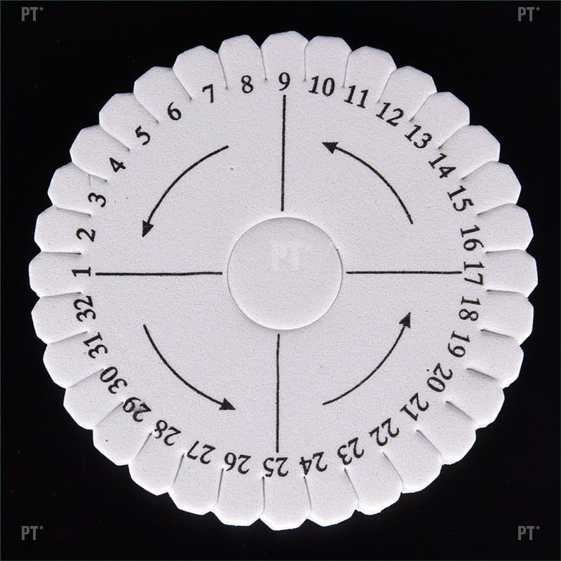 PT*Round Square Handmade Beading Cord Disk Braiding Plate DIY Braided Braided Rope