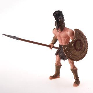 Mô Hình Đồ Chơi Chiến Binh Spartan Angle Fighters Kích Thước 10.5cm