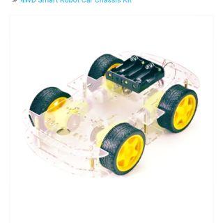 Bộ kit khung xe robot làm robocon