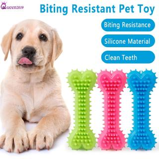 Ready Pet Dog Chew Teeth Clean TPR Toys Puppy Molar Chewing Treat Training Rubber Tooth Cleaning Bone Toy Queen