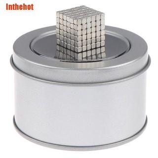 Inthehot✹ 215Pcs 3x3x3mm rare earth neodymium square magnets block cubes toy