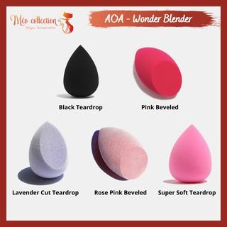 Mút tán kem nền AOA Wonder Blender Paw Paw hình giọt nước và hình vát Mochi Wonder Blender Coral thumbnail