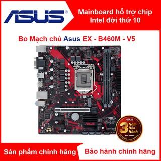 Bo mạch chủ gaming Mainboard ASUS EX-B460M-V5 Expedition socket 1200 (hỗ trợ Chip Intel đời thứ 10 – Main mATX)