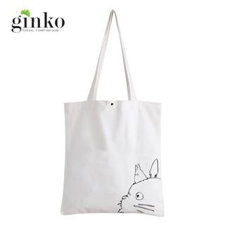 Túi Vải GINKO Kiểu Basic In Hình Totoro G127