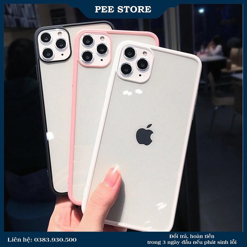 Ốp Lưng Iphone Trơn Chống Ố 6/6plus/6s/6s plus/6/7/7plus/8/8plus/x/xs/xs max/11/11 pro/11 promax – PEE STORE