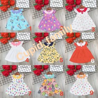 Váy Các tơ dáng baby doll siêu xinh yêu cho bé gái - VCBD