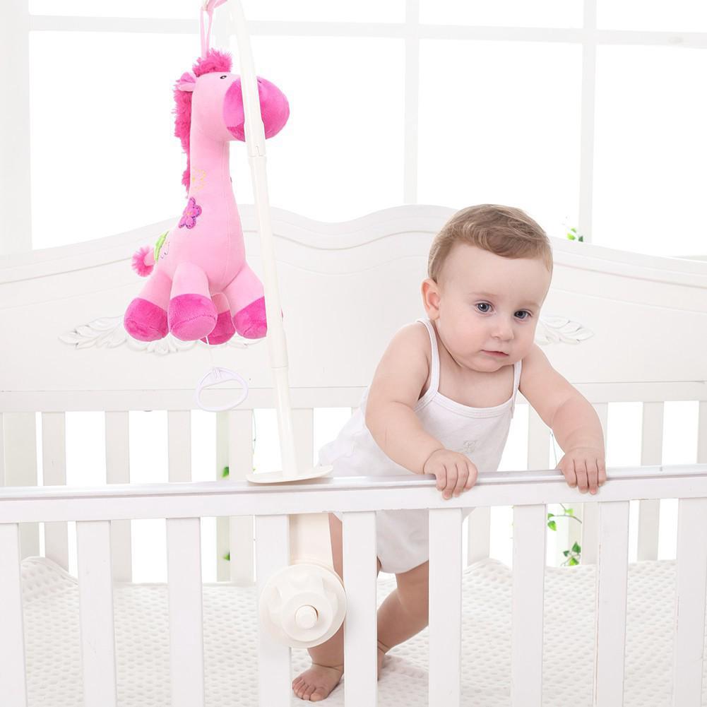 Đồ chơi thú nhồi bông treo nôi / giường cho bé