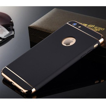 Ốp lưng iPhone 6 Plus/6s Plus+ tặng kèm cường lực/iring/ốp dẻo ( Gold- đỏ- đen- xanh than)