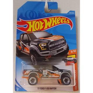 Xe mô hình Hot Wheels '17 Ford F-150 Raptor FJY54