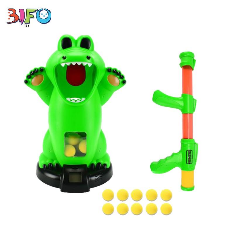 [DEAL ĐỘC QUYỀN] Bộ đồ chơi bắn bóng CROCODILE – Đồ chơi cá sấu tinh nghịch