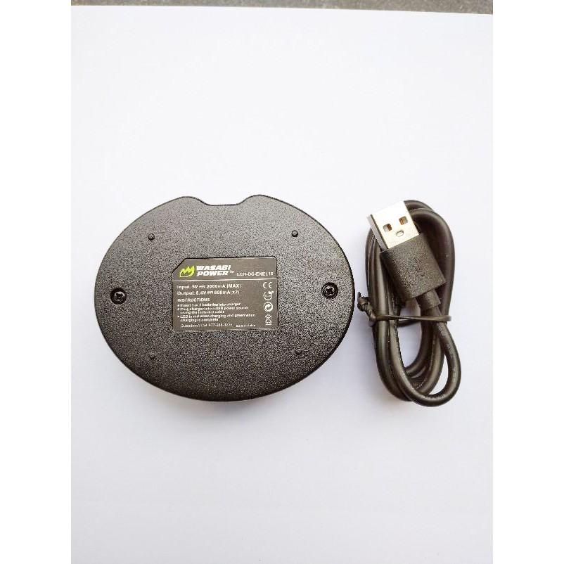 Pin, Sạc Wasabi EN-EL15 cho Nikon