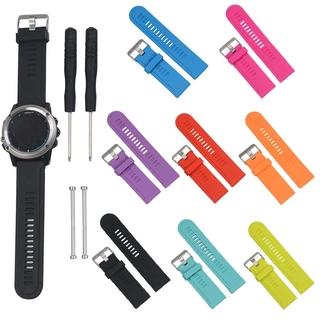 26mm Dây Đeo Silicone Dây Đeo Đồng Hồ cho Garmin FENIX 3 HR 5X Plus 6X Vòng Tay Thông Minh Dây Thể Thao Thay Thế dây đeo tay thumbnail