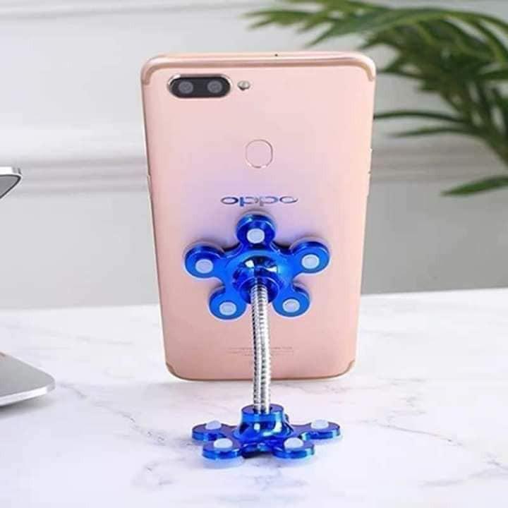 Giá đỡ điện thoại hình bông hoa siêu hút - Đế hít điện thoại hút chân không