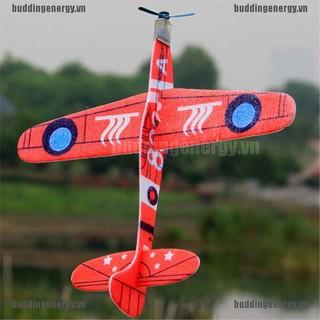 {buddi} 19cm Hand Throw Flying Glider Planes Foam Airplane Party Bag Fillers Kids Toys{LJ}
