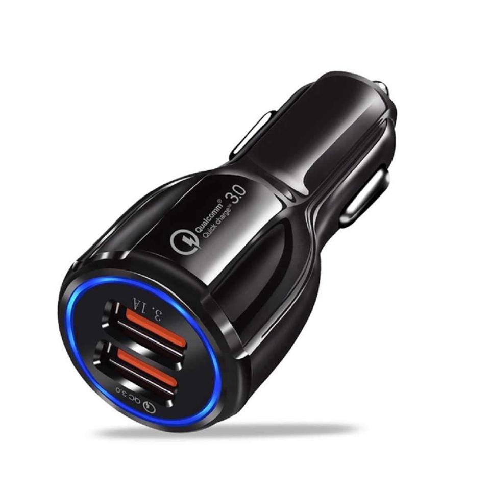 Củ sạc nhanh QC 3.0 cho điện thoại trên xe ô tô tiện dụng