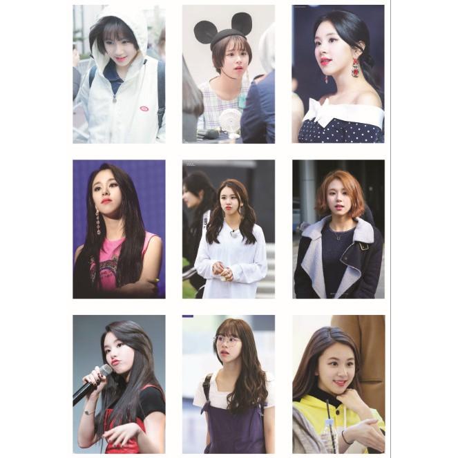 Lomo card ảnh thành viên TWICE - CHAEYOUNG full 72 ảnh