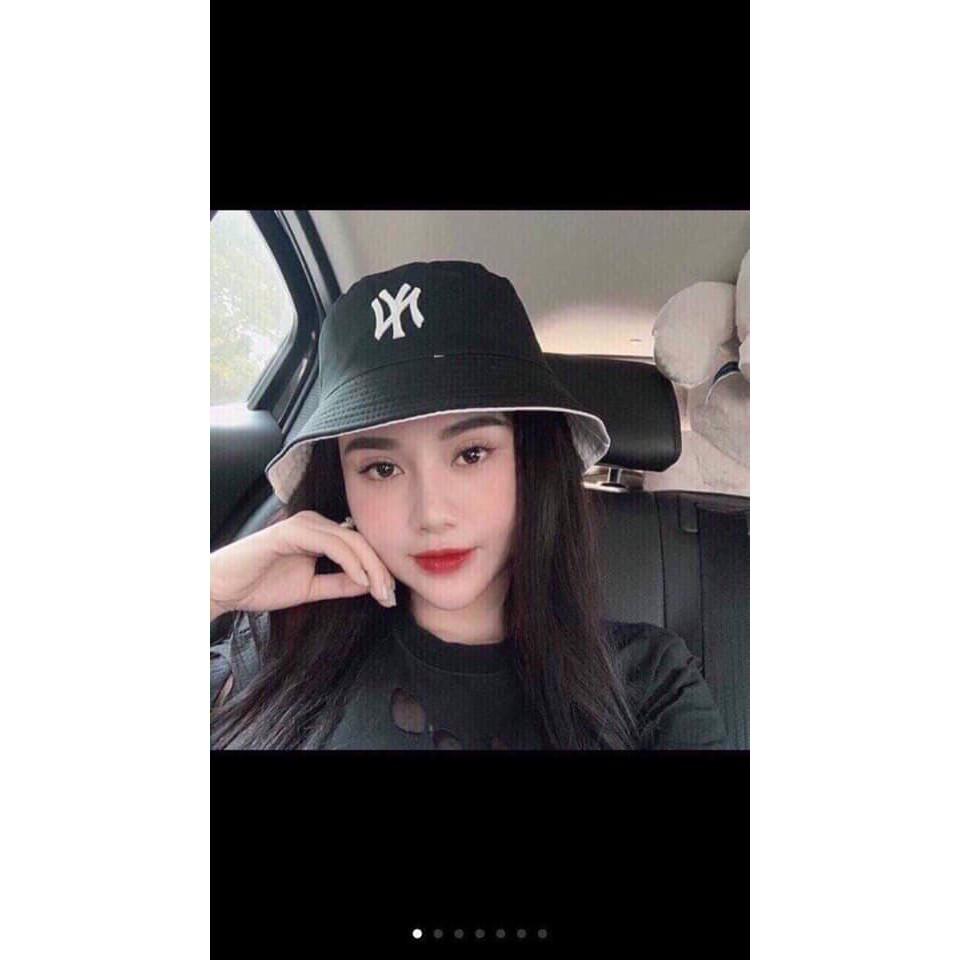 Mũ bucket Yankees NY 2 mặt CỰC HÓT MŨ VÀNH TRÒN NY