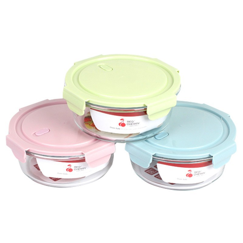 Hộp đựng thực phẩm-hộp đựng thức ăn thủy tinh để lò vi sóng 400ml-620ml-950ml