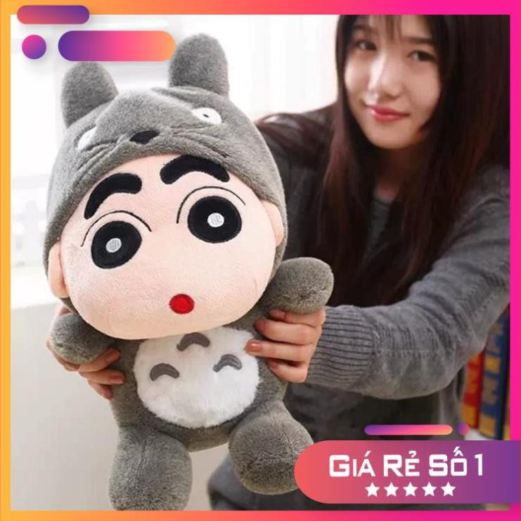Gấu Bông, Gấu Ôm – Shin Totoro Bông – Kích Thước 40cm- Được Xem Hàng Trước