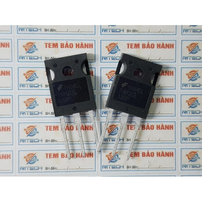 FGH30S130P, FGH30S130P IGBT 30A/1300V TO-247