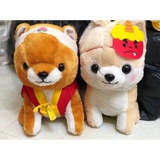 Chó shiba mặc quần áo lễ hội Nhật