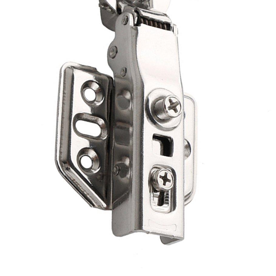 【SYH】2pcs 304 Stainless Steel 2.0 Self Dump Straight Arm Hinge Hydraulic Hinge