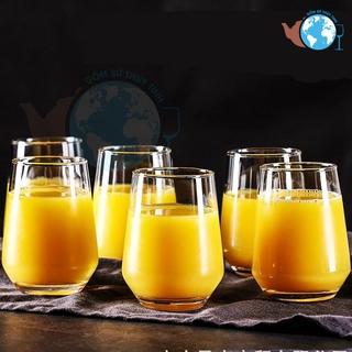 6 ly thuỷ tinh oval lỡ hàng thuỷ tinh cao cấp ES7018-1, 6 ly thuỷ tinh uống detox, sinh tố, sodo, uống vang cao cấp