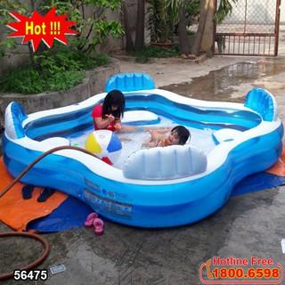 Bể bơi phao GIA ĐÌNH Salon INTEX 56475