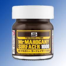 Sơn Lót Mô Hình Mr Hobby 1500 Nâu (Mr. Mahogany Surfacer 1000)