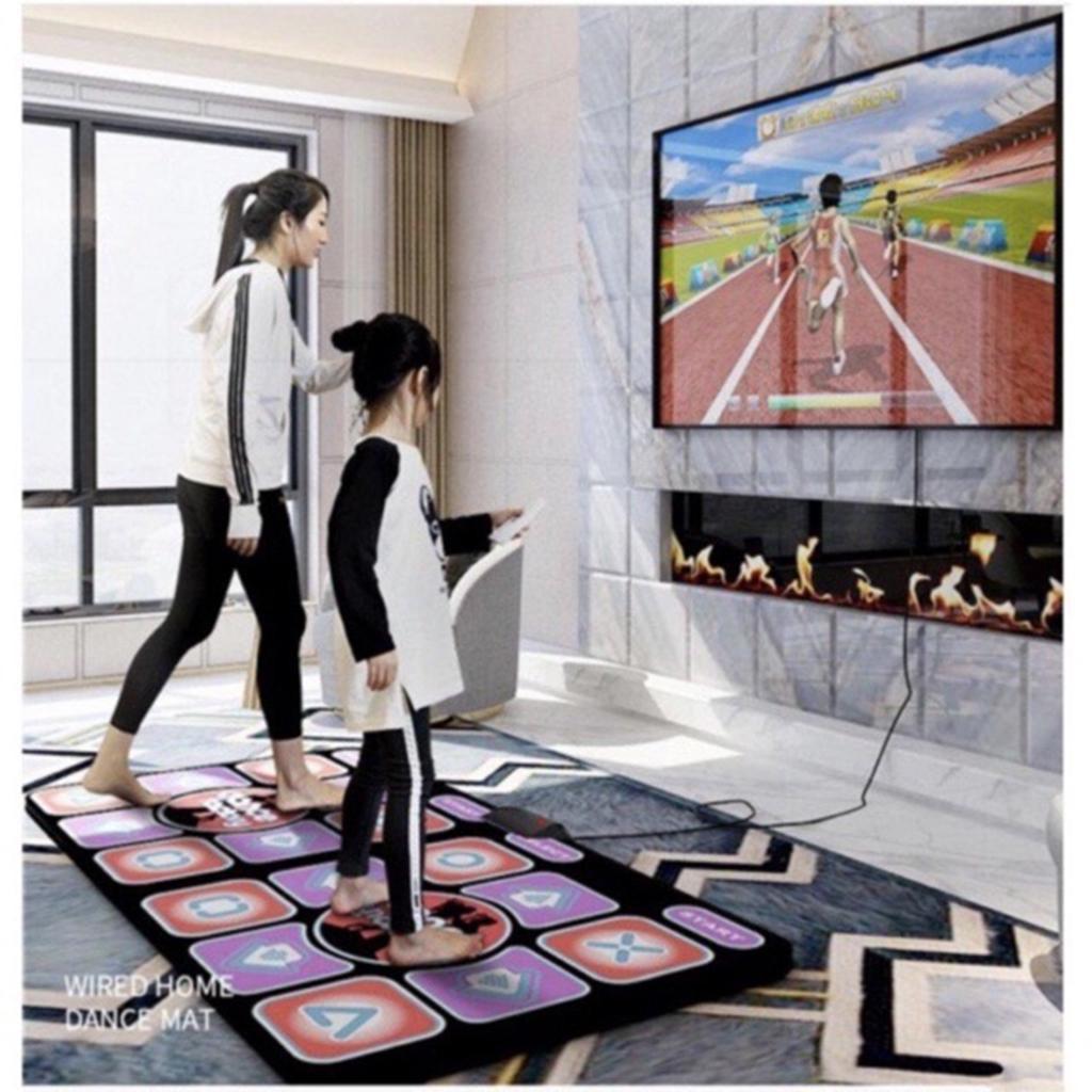 Bộ thảm nhảy Audition + 2 tay cầm điều khiển, kết nối Tivi
