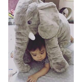 Gấu bông chú voi 80cm có cái vòi ngộ nghĩnh dành cho các bé siêu dáng yêu giá rẻ