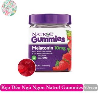 Kẹo dẻo hỗ trợ ngủ ngon Natrol gummies