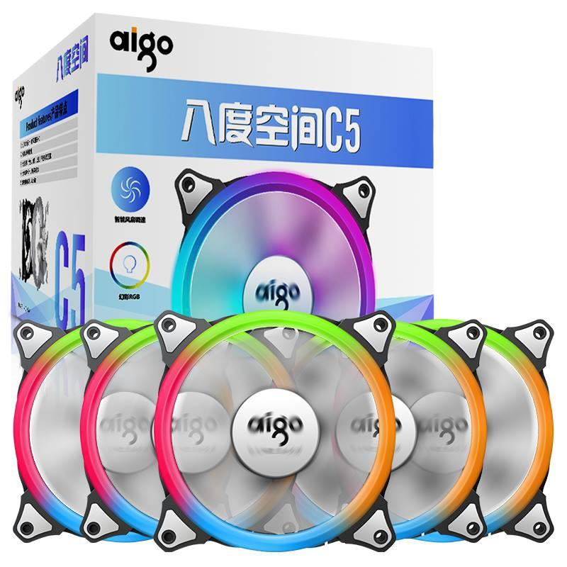 Fan Aigo led RGB C5 - 3001603 , 427756798 , 322_427756798 , 1150000 , Fan-Aigo-led-RGB-C5-322_427756798 , shopee.vn , Fan Aigo led RGB C5