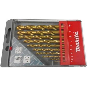 1-10mm Bộ mũi khoan sắt 10 chi tiết Makita D-43561 - 2810088 , 140703855 , 322_140703855 , 477000 , 1-10mm-Bo-mui-khoan-sat-10-chi-tiet-Makita-D-43561-322_140703855 , shopee.vn , 1-10mm Bộ mũi khoan sắt 10 chi tiết Makita D-43561