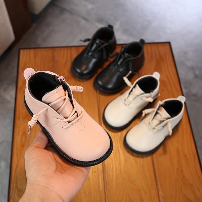 Giày trẻ em, giày cho bé, giày boot trẻ em thời trang cho bé trai, bé gái da mềm GD03 Hot 2020
