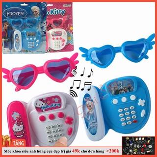 [SP MỚI] Điện thoại bàn phát nhạc đồ chơi cho bé
