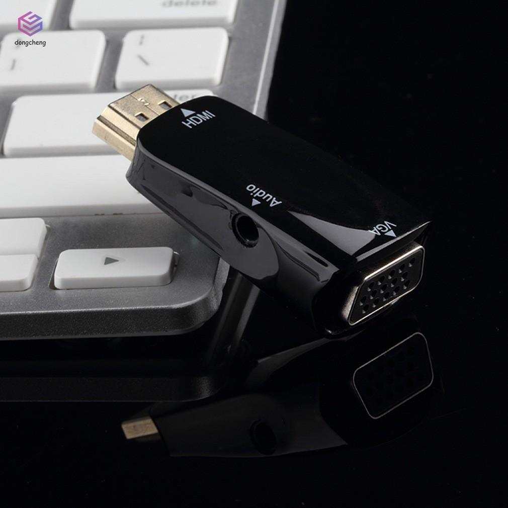 Cáp chuyển đổi từ cổng HDMI đực sang VGA cái cho PC HDTV - 22843706 , 2300841704 , 322_2300841704 , 98000 , Cap-chuyen-doi-tu-cong-HDMI-duc-sang-VGA-cai-cho-PC-HDTV-322_2300841704 , shopee.vn , Cáp chuyển đổi từ cổng HDMI đực sang VGA cái cho PC HDTV