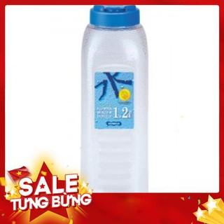 [Xuất xứ KOREA] Bình nước nhựa thể thao rỗng Komax 1.2L, SP An Toàn Sức Khỏe