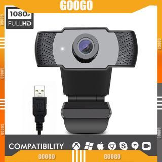 Webcam Hd 1080p Usb 2mp Kèm Mic Cho Máy Tính