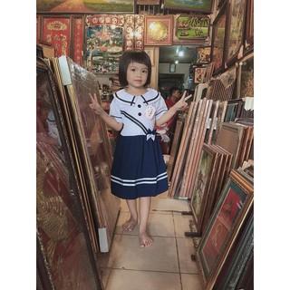 Đầm học sinh cho bé gái (15-27kg)