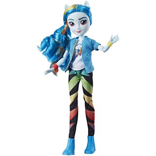 Búp bê My Little Pony Equestria Girls Rainbow Dash Classic Style Doll